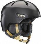 bern Bristow Zipmold Boa - Snowboard Helm für Damen - Schwarz - M/L