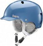 bern Lenox ThinShell Boa - Snowboard Helm für Damen - Blau - S
