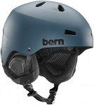 bern Macon Thin Shell Boa - Snowboard Helm für Herren - Blau - XXL/XXXL