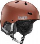 bern Macon Thin Shell Boa - Snowboard Helm für Herren - Rot - XXL/XXXL