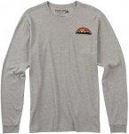 Burton Fowler L/S - Langarmshirt für Herren - Grau - S