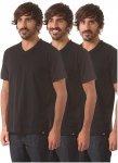 Dickies V Neck Pack - T-Shirt für Herren - Schwarz - XS