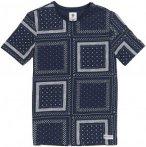 Element Grant Crew - T-Shirt für Herren - Blau - M