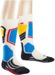 FALKE SK 2 Snowboard Socken - Weiß - Größe 31-34