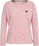 NAKETANO Gräfenberg-Zone - Langarmshirt für Damen - Pink - L