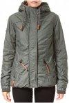 NAKETANO Mädchen furzen Rosenduft - Jacke für Damen - Grün - XS