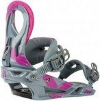 NITRO Lynx - Snowboard Bindung für Damen - Grau - S