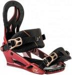 NITRO Lynx - Snowboard Bindung für Damen - Rot - M