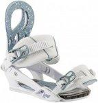 NITRO Lynx - Snowboard Bindung für Damen - Weiß - Größe M