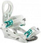 NITRO Lynx - Snowboard Bindung für Damen - Weiß - S