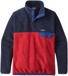 Patagonia LW Synch Snap-T - EU Fit - Outdoorpullover für Herren - Rot - Größe