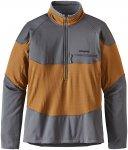Patagonia R1 Field 1/4 Zip - Langarmshirt für Herren - Braun - Größe XL