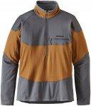 Patagonia R1 Field 1/4 Zip - Langarmshirt für Herren - Braun - L