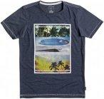 Quiksilver Place To Be - T-Shirt für Jungs - Blau - 152