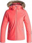 Roxy Jet Ski Solid - Snowboardjacke für Mädchen - Pink - 152