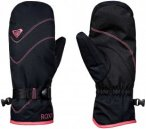 Roxy Jetty Solid Mitt - Snowboard Handschuhe für Damen - Schwarz - Größe L
