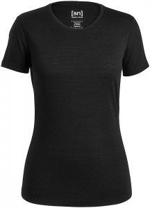 SUPER.NATURAL Base 140 - T-Shirt für Damen - Schwarz - XL