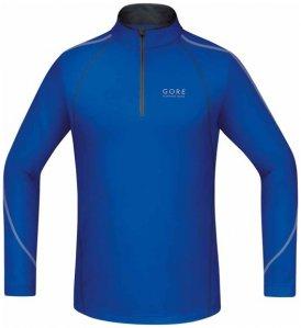 GORE RUNNING WEAR Essential - Laufshirt mit Zip Langarm - Herren, Gr. XL