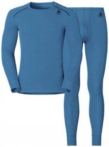 Odlo Set Shirt l/s Pants WARM - Sportunterwäsche-Komplet, Gr. L