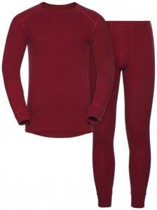 Odlo Set Shirt l/s Pants WARM - Sportunterwäsche-Komplet, Gr. XL