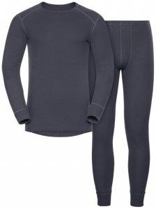 Odlo Set Shirt l/s Pants WARM - Sportunterwäsche-Komplet, Gr. S