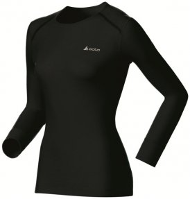 Odlo Shirt L/S Warm - Funktionsshirt Langarm - Damen, Gr. L