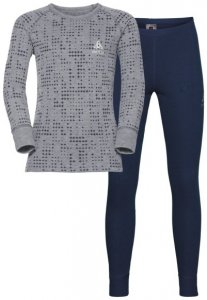 Odlo Warm Kids Shirt Pants Long Set - Unterwäsche Komplet - Kinder, Gr. 116