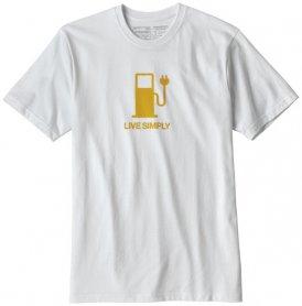 Patagonia Live Simply Power Responsibili - T-Shirt Trekking - Herren, Gr. M
