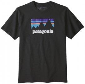 Patagonia Shop Sticker Responsibili - T-Shirt Wandern - Herren, Gr. L