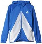 Adidas ACE Full Zip Hoodie - Kapuzenjacke - Jungen, Gr. 5-6A years