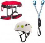 Beal Kit bestehend aus: Klettergurt + Klettersteigset + Helm