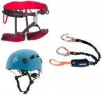 Beal Kit bestehend aus: Klettergurt + Klettersteigset + Helm, Gr. M/L (55-61,5 c