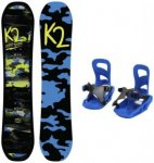K2 Set Snowboard Mini Turbo + Snowboard-Bindung Mini Turbo, Gr. XS