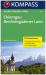 Kompass Karte Nr. 594 Chiemgau Berchesgadener Land