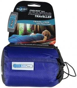 Sea to Summit Coolmax Adaptor Traveller - Schlafsackeinlage