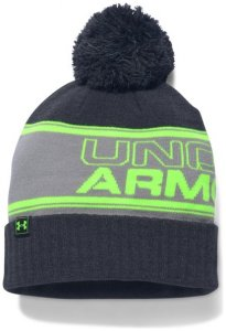 Under Armour UA Retro Pom Beanie, Gr. One Size