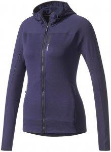 """adidas Performance Damen Laufjacke """"Terrex TraceRocker Hooded Fleece"""", blau, Gr. 40"""