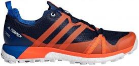 "adidas Performance Herren Laufschuhe ""Terrex Agravic GTX"" blau/rot, blau, Gr. 46"