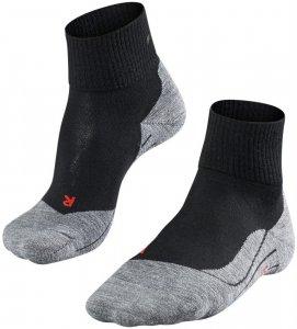 Falke Damen Trekking-Socken TK 5 Ultra Light, schwarz, Gr. 35/36