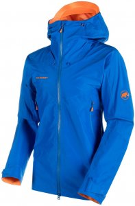 "Mammut Herren Bergsportjacke / Trekkingjacke ""Nordwand Advanced HS Hooded Jacket"", blau, Gr. XL"