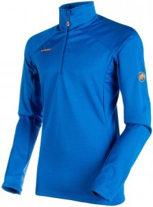 "Mammut Herren Funktionspullover ""Moench Advanced"", blau, Gr. L"