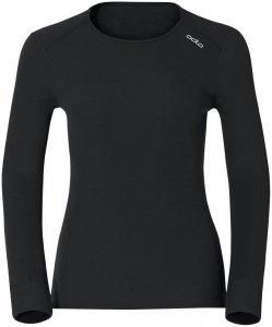 Odlo Damen Unterwäscheoberteil Shirt Crew Neck Warm, schwarz, Gr. L