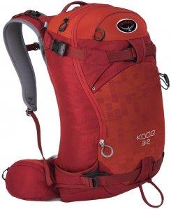 Osprey Skirucksack Kode 32, rot, Gr. S