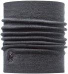 BUFF Schlauchtuch / Schlauchschal Grey Thermal Merino Wool, dunkelgrau, Einheits