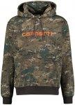 Carhartt WIP Herren Sweatshirt mit Kapuze, oliv, Gr. S
