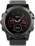 "Garmin GPS-Multifunktionsuhr ""fēnix 5X Saphir"" grau/schwarz, mehrfarbig, Einhei"
