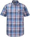 "Jack Wolfskin Herren Wanderhemd ""Hot Chili Shirt"" Kurzarm, nachtblau, Gr. L"