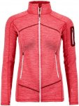 "Ortovox Damen Fleecejacke ""Fleece Light Melange Jacket"", koralle, Gr. XS"