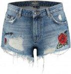 "Superdry Damen Jeansshorts ""Eliza Cut Off Short"", denim, Gr. 32"