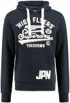 """Superdry Herren Sweatshirt """"High Flyers Hood"""", marine, Gr. M"""